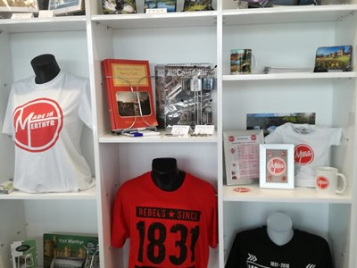 Merthyr Tydfil Tourist Information Shop   Stockists of Local Products and Guides