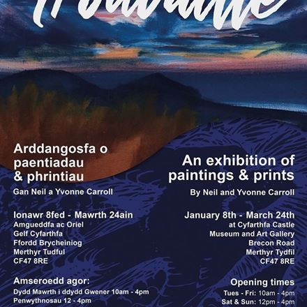 Trouvaille – An exhibition of Paintings & Prints by Neil & Yvonne Carroll